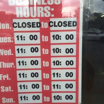 of Number 1 Chinese Restaurant Chattanooga TN United States They closed