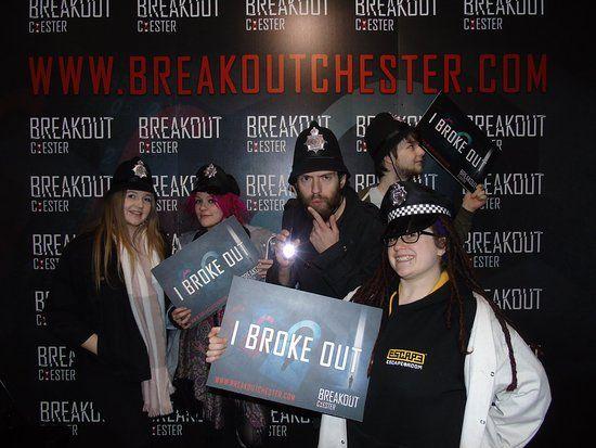 Breakout Chester Escape Room Stoke