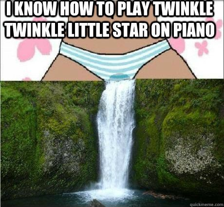i know how to play twinkle twinkle little star on piano
