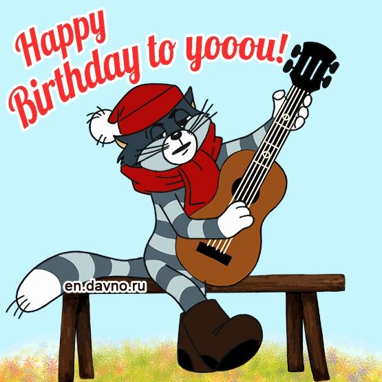 Free Cat Birthday Cards Elegant Funny Cat Singing Happy Birthday to You Gif Free Download Card