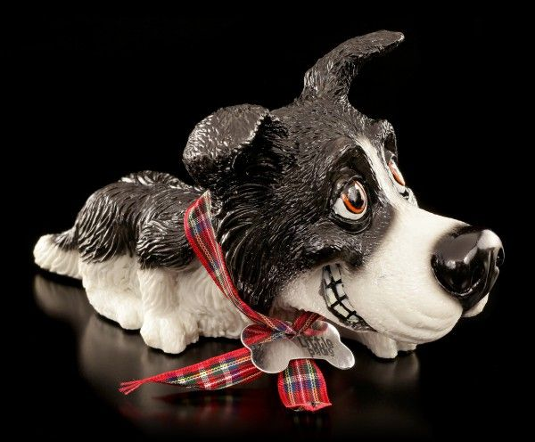 Dog Figurine Border Collie Bess Little Paws