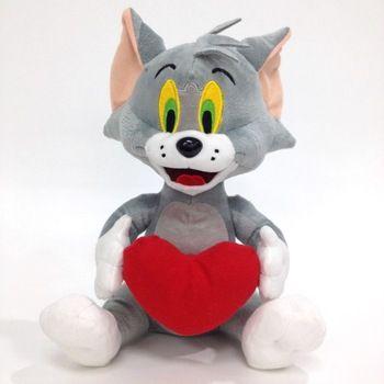 Cheap custom stuffed animal cat funny grey mouse plush toys for kids
