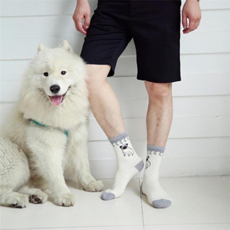 2018 New Fashion harajuku Socks Small Cartoon Animal Series Cute Dog Fashion Sock fortable Summer Spring