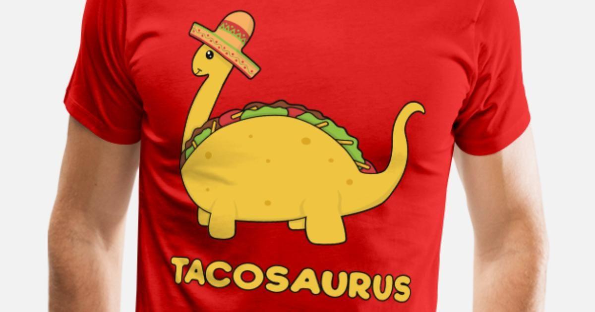 Men s Premium T ShirtCinco de Mayo Tacosaurus vintagecontest