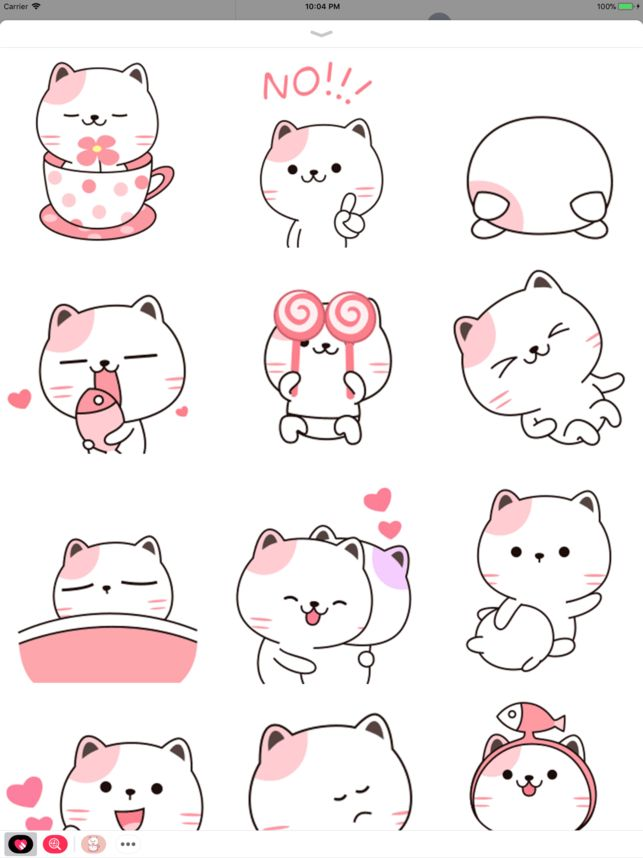 Baby Cat Animated Stickers 4