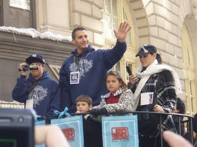 Andy Pettitte and His Family