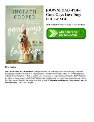 [ pdf ] good guys love dogs full page