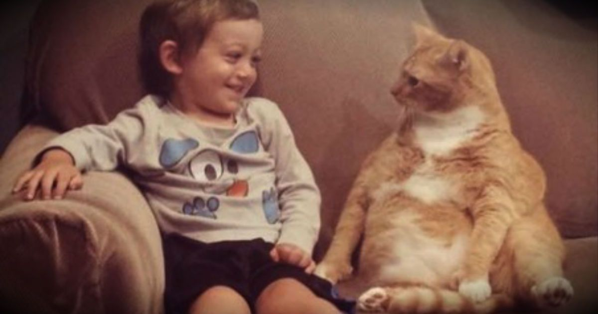 This Little Boy And His Furry Best Friend Are Too Cute For Words