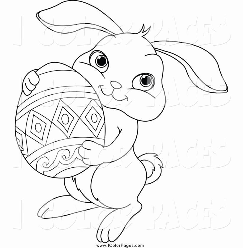 Easter Bunny Coloring Pages Unique Easter Bunny Coloring Inspirational New Fox Coloring Pages Easter Bunny