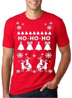 Crazy Dog T shirts Crazy Dog Tshirts Mens Deer Hunt Ugly Christmas Sweater Funny Hunting