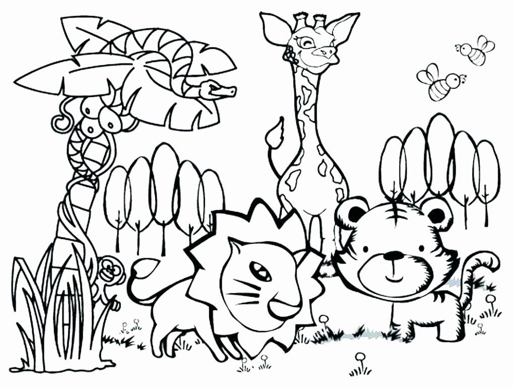 Safari Animals Coloring Pages Elegant African Safari Coloring Pages 11 Eco Coloring Page