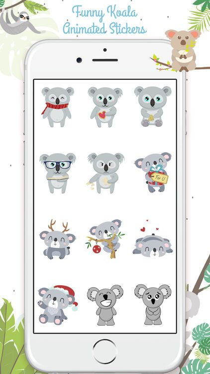 Koalamoji Animated Koala screenshot 1