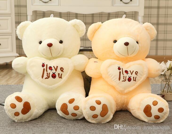 2019 Giant Big Plush Teddy Bear Soft Gift For Valentine Day Birthday Stuffed Teddy Bear Giant Cute From Wuchaoqun $16 28
