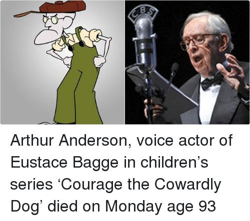 Arthur Children and Courage the Cowardly Dog Arthur Anderson voice actor of