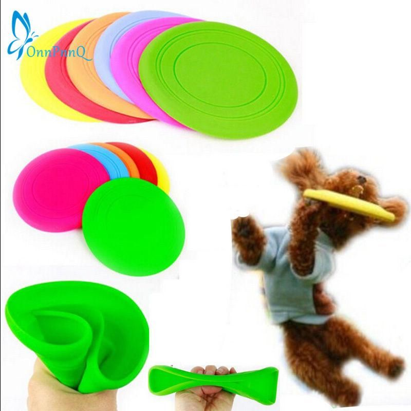 nPnnQ Fantastic Pet Dog Flying Disc Tooth Resistant Training Toy Play Frisbee Tide Dog Toys Chews Flying Discs Toys Pet Supplies Dog Toys Chews line
