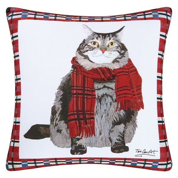 Shop Fat Cat Indoor Outdoor 18 Inch Throw Pillow Sale Free Shipping Orders Over $45 Overstock