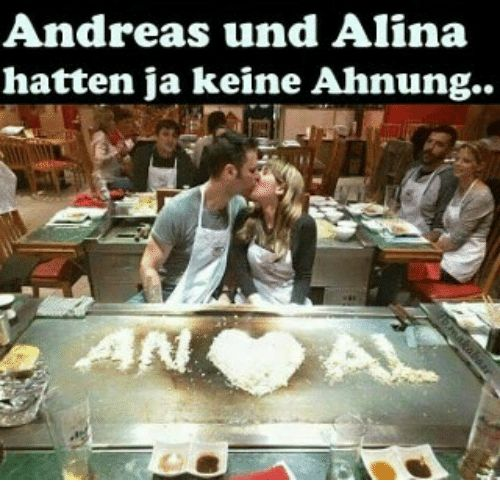 Memes Andrea and 🤖 Andreas und Alina hatten ja keine Ahnung