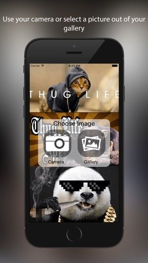 Thug Life Maker Funny Sticker Editor 12 Thorolf Winter