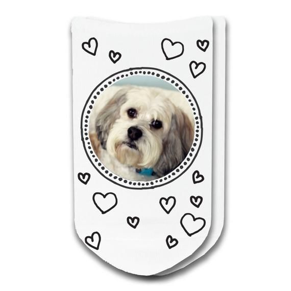 Custom Pet Socks for Pet Lovers Use Your Dog or Cats s for Fun Socks for Dog and Cat Lov