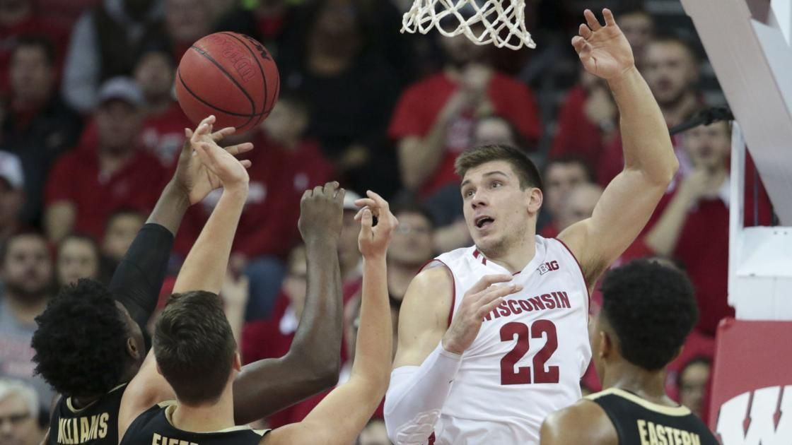 Tom Oates Overtime loss to Boilermakers more proof that Badgers need to improve to pete in Big Ten Wisconsin Badgers Men s Basketball