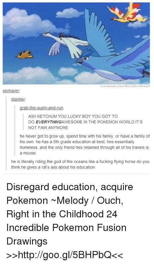 Funny Fusion and The Pokemon RuinChildlho od haver