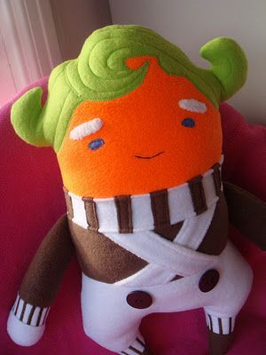 Charlie and the Chocolate Factory Plush Oompa Loompa