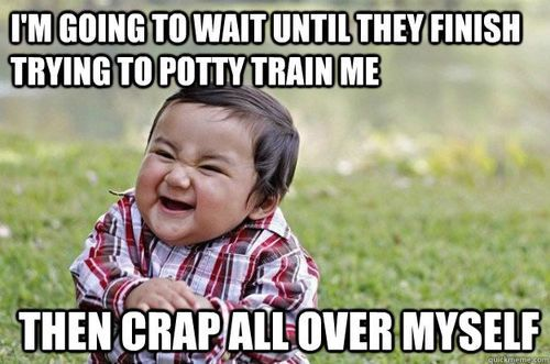 potty training meme