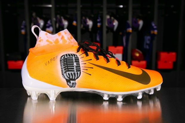 "The Vikings Tyler Conklin will wear cleats for KnowResolve on Sunday for the NFL s annual ""My Cause My Cleats"" campaign KnowResolve aims to promote"