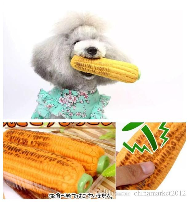 Pet Dog Puppy Cat Playing Toys Non Toxic Latex Toy Sound Toy Corn Style Cute Toys UK 2019 From Chinamarket2012 UK $$53 27