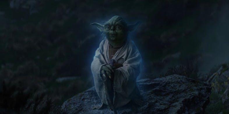 Force Ghost Yoda