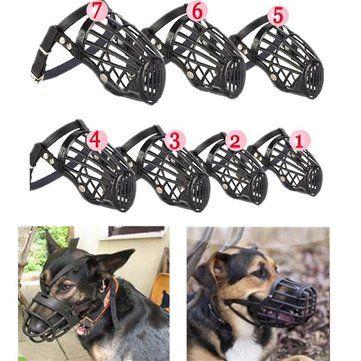 7 Sizes Choices Adjustable Pet Dog No Bark Bite