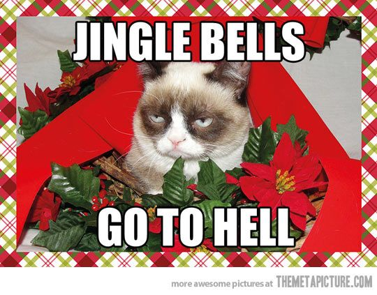 Christmas music before December…