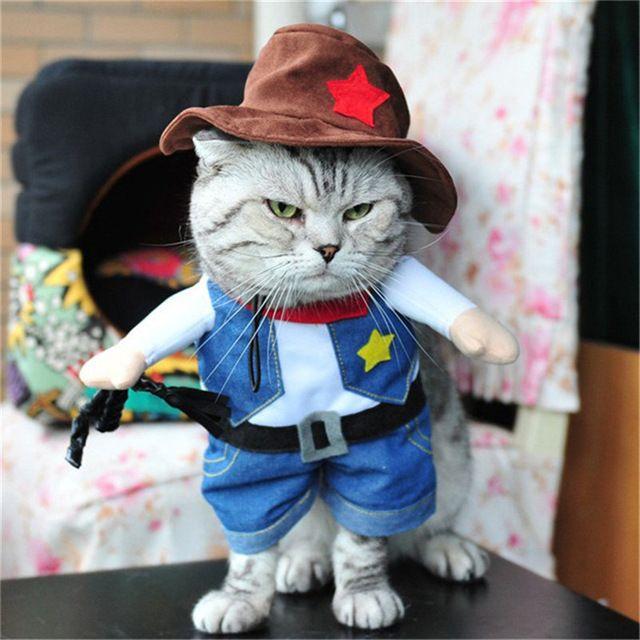 Small Funny Cats Clothes Cosplay Pets Dress Dogs Clothing Funny Outfit Small Clothing Costume Products roupa para gato dla psa