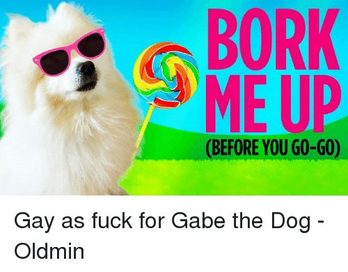 Memes 🤖 and Gay BORK ME UP BEFORE YOU GO GO