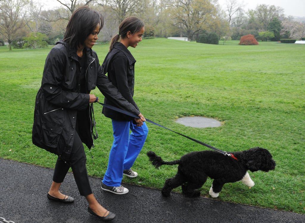 April 2009 Michelle Malia took newest addition