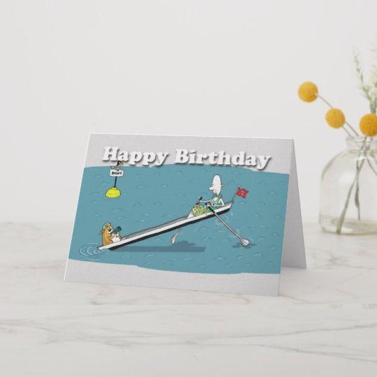 funny rowing card birthday fat cat and duncan r4cda3cbd4bed4e77ada a96cbf7f em0cj 540