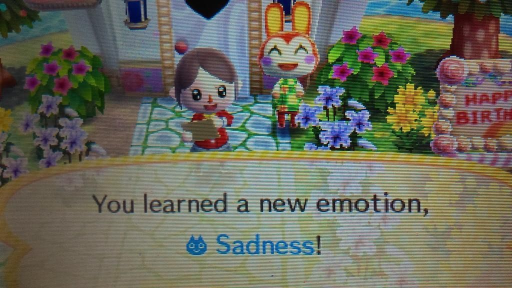 Animal Crossing that s not the appropriate reaction